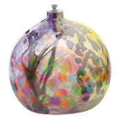 Oil Lamp - Fairy Orb - Purple - 6""