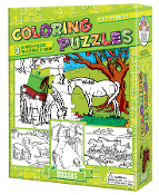 Coloring Puzzles-Horses
