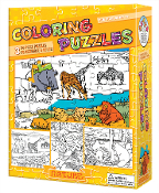 Coloring Puzzles-Nature