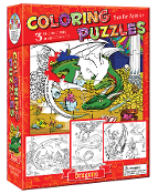 Coloring Puzzles-Dragons