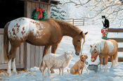 Barnyard Winter