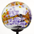 Multi Purple Webbed Solar Light