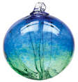 Witch Ball - Cobalt/Green